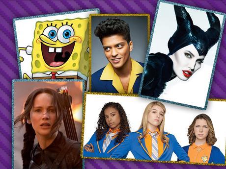 2015 års nomineringar till Kids Choice Awards är här!