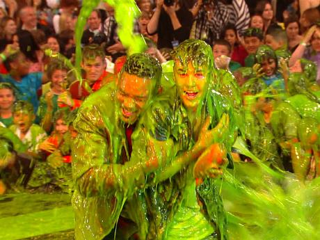 KCA Hosts Get Slimed
