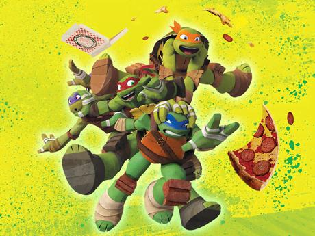 Wojownicze żółwie Ninja: Nowy sezon!