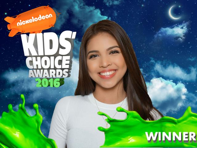 Maine Mendoza Wins 2016 Favorite Pinoy Personality!
