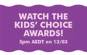 Watch the Kids' Choice Awards! 5pm AEDT on 13/03