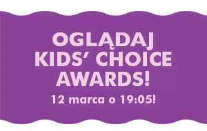 Oglądaj Kids' Choice Awards 12 marca o 19:05!