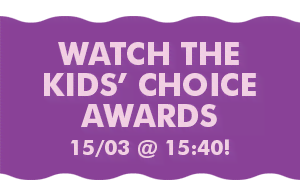 Watch the Kids' Choice Awards 15/03 @ 15:40!