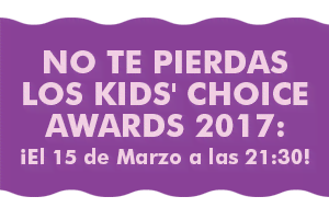 No te pierdas los Kids' Choice Awards 2017: ¡El 15 de Marzo a las 21:30!