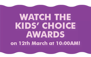 Watch the Kids' Choice Awards on 12th March at 10:00AM!