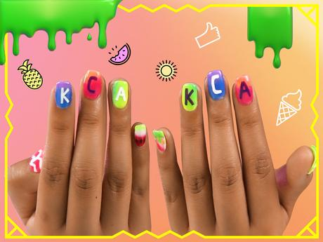 Artes do KCA nas unhas!