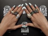 Bei den 2014 MTV Movie Awards gesichtet: Nailart.
