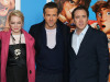 Ryan Reynolds, Emma Stone en Nicolas Cage over 'The Croods'
