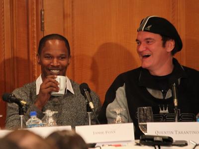 """Charla con Tarantino y el reparto: ¿Por qué hacer """"Django Unchained""""?"""