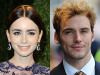 "Lily Collins and Sam Claflin Come Up ""Rosie"""