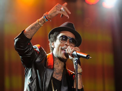 Wiz Khalifa Will Perform at the Movie Awards!