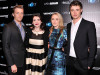 Saoirse Ronan, Jake Abel, Max Irons & Stephenie Meyer over 'The Host'