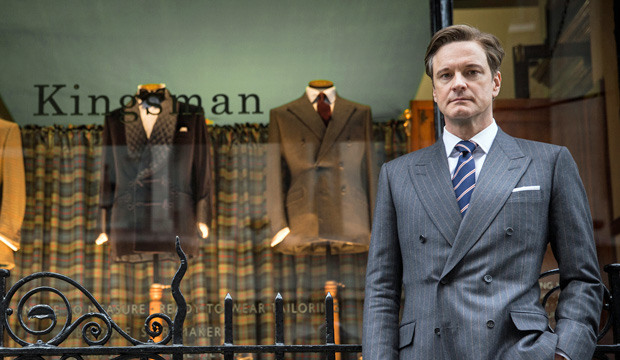 Spying on Colin Firth On The Set Of 'Kingsman: The Secret Service'