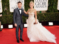 2013 Golden Globes Red Carpet Shots