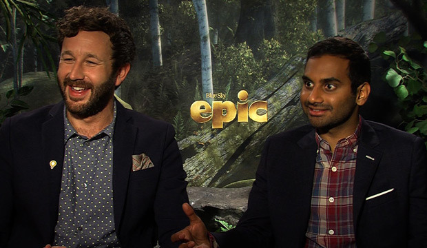 Movies.MTV Exclusive: 'Epic' Stars Get Animated
