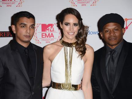2012 MTV EMA Roter Teppich