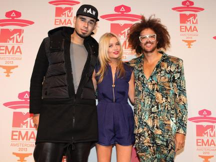 2013 MTV EMA Red Carpet Looks