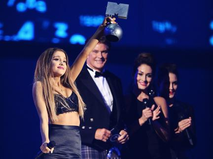 Die EMA-Sieger: Ariana Grande, 5 Seconds of Summer, Katy und One Direction