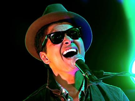 PUSH to the Top: Bruno Mars