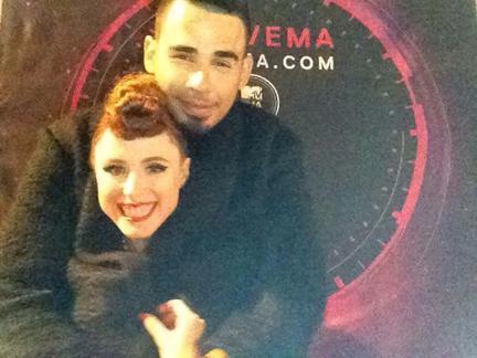 2014 MTV EMA VIP-Selfies!