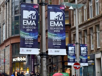 MTV EMA Glasgow Takeover