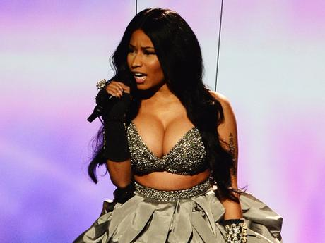 Nicki Minaj's Hottest EMA Shots