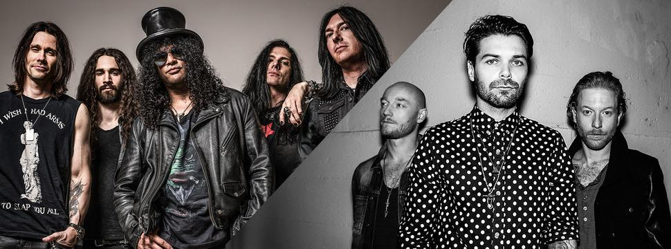 GUITAR LEGEND SLASH AND THE UK'S BEST LIVE BAND BIFFY CLYRO SET TO ROCK GLASGOW AHEAD OF THE 2014 MTV EMA