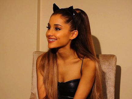 Ariana Grande Talks EMAs