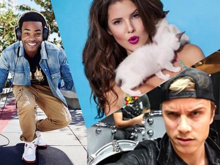¡Las estrellas de las redes sociales cubren los MTV EMA 2015!