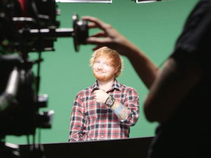 Exclusive! Behind the Scenes With Ed Sheeran