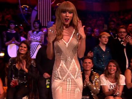 EMA #TBT: Taylor Swift 2012