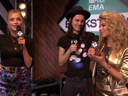 MTV EMA backstage show