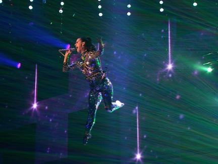 Katy Perry Soared Above Us All at the 2013 EMA