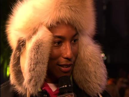Pharrell Williams Was Way Cool at the 2006 Copenhagen EMAs
