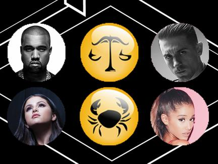 The Astrological Signs of this year's EMA Noms