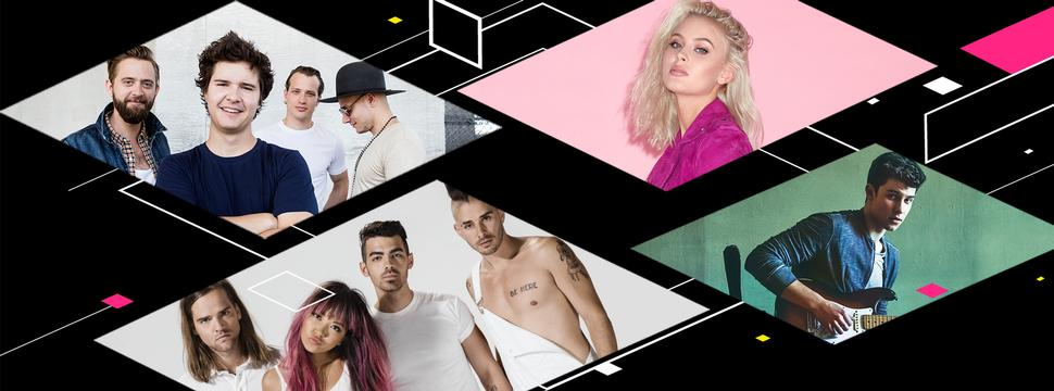 SHAWN MENDES, DNCE, LUKAS GRAHAM AND ZARA LARSSON TO TAKE THE STAGE AT 2016 MTV EMAS