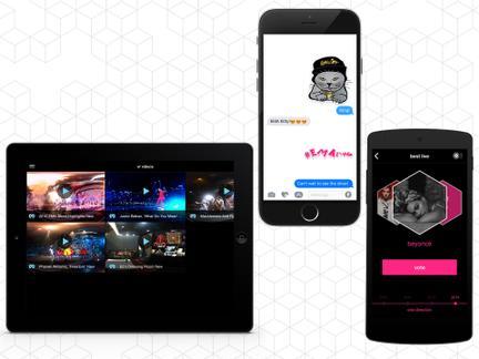 Dieses Jahr bietet euch die MTV EMA-App exklusive Stickers an!