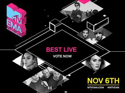 Vote : Best Live