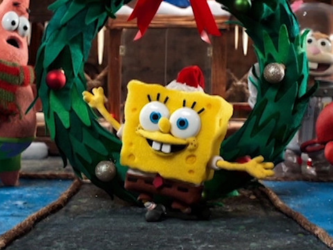 Bob Esponja | Short | Natal do Bob