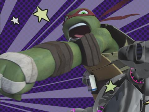 Tartarugas Ninja | Short | Tartarugas em Câmera Lenta
