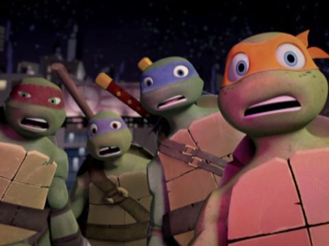 Tartarugas Ninja | Short | Idas e Vindas
