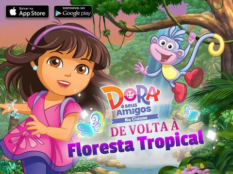 Dora e seus Amigos: De Volta à Floresta Tropical