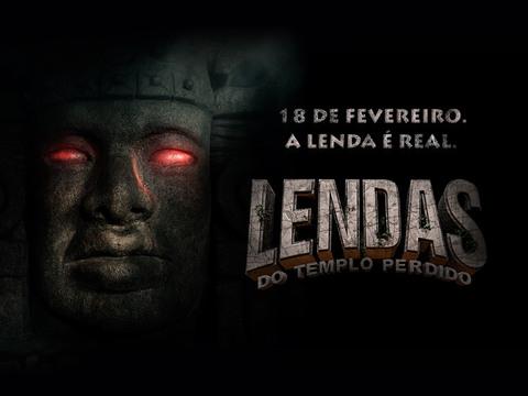 ASSISTA A LENDAS DO TEMPLO PERDIDO SÁBADO!