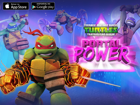 Tartarugas Ninja Portal Power
