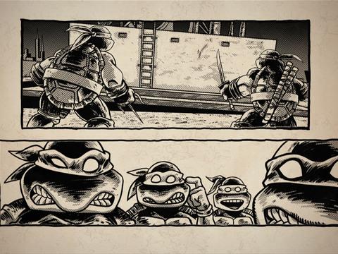 Tartarugas Ninja | Short | Dentro dos Quadrinhos