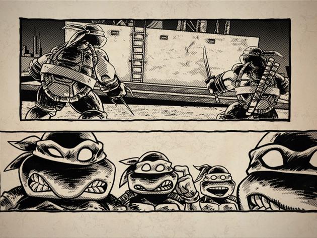 Las Tortugas Ninjas | Short | Dentro de un Cómic