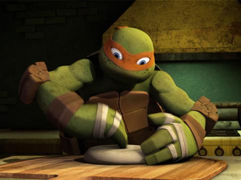 Las Tortugas Ninjas | Short | Haciendo Pizza