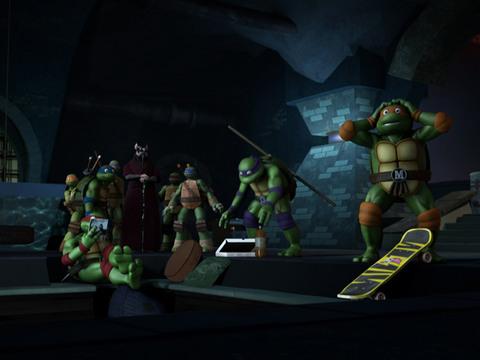 Las Tortugas Ninjas | Short | Intrusos en la Guarida