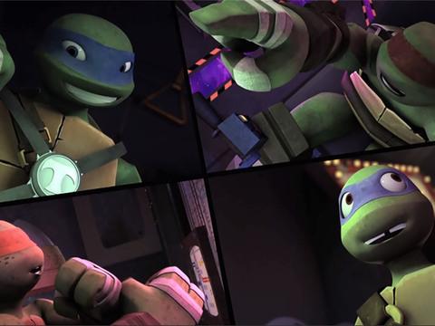 Las Tortugas Ninjas | Short | El Tortumóvil