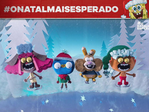 O NATAL MAIS ESPERADO | SHORT | A Magia do Natal em Harvey Beaks